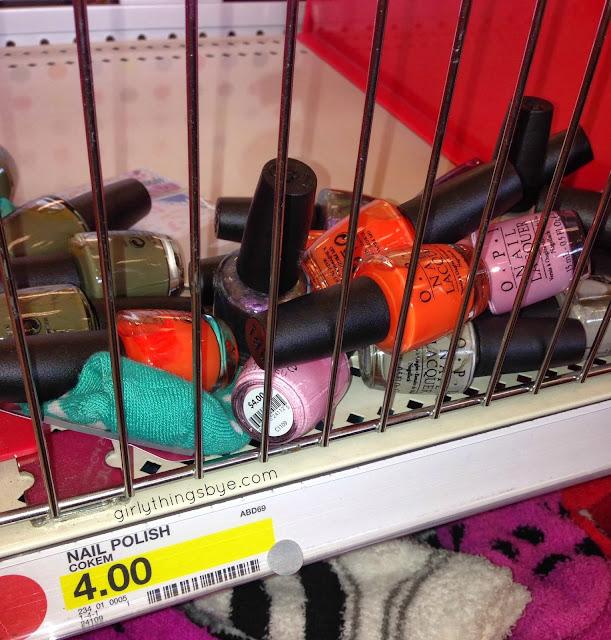 $4 OPI nail polish at Target