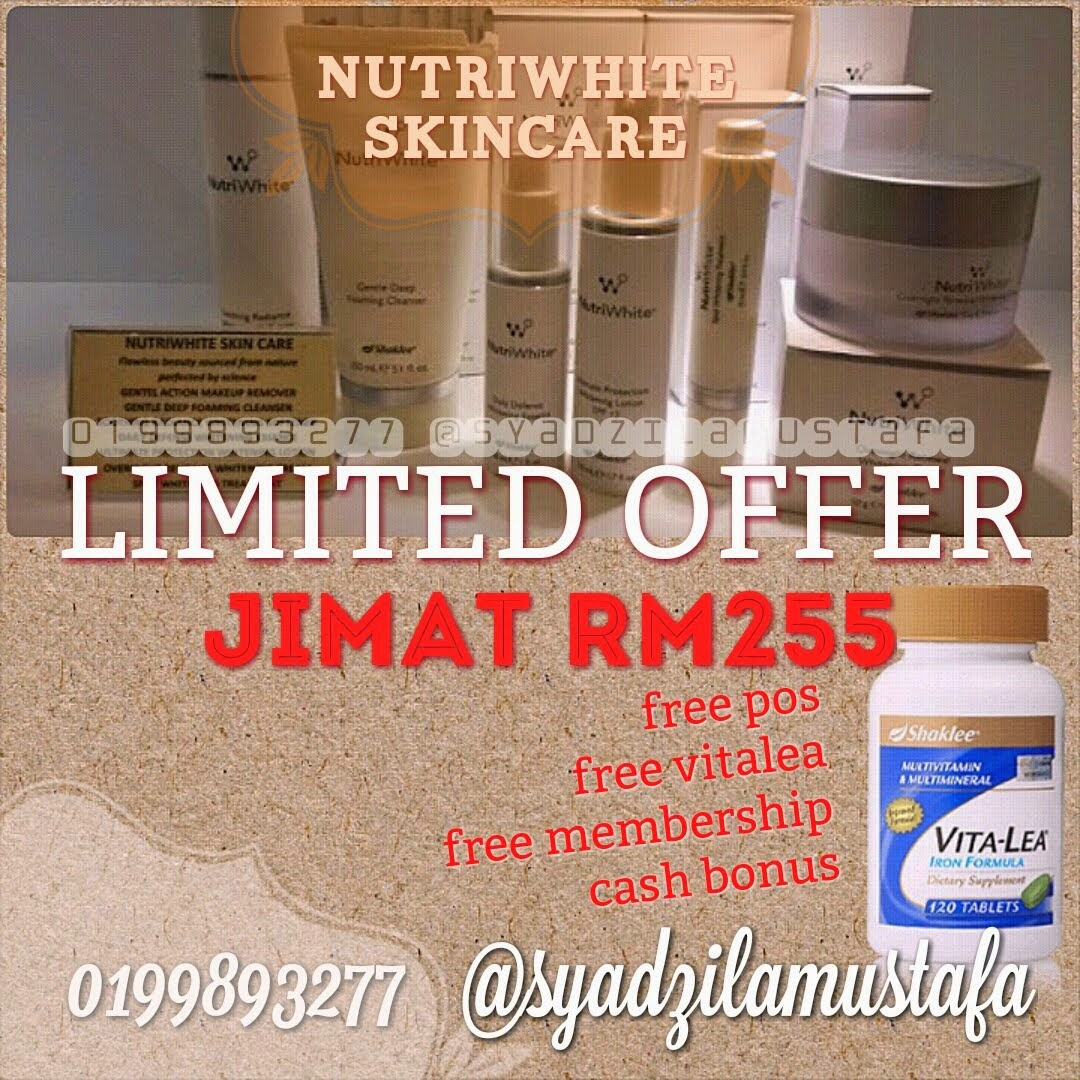 NUTRIWHITE LIMITED OFFER
