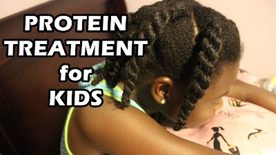Protein Treatment for Kids with Natural Hair