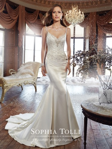 Sophia Tolli Fall 2015 Collection