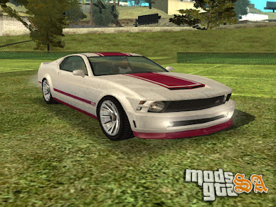 Vapid Dominator do GTA V para GTA San Andreas