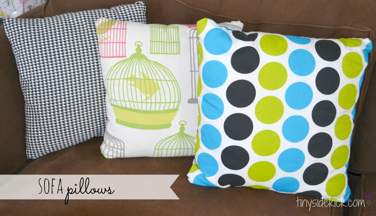Diy Throw Pillows With Zipper: DIY Zippered Pillow Covers   Install a zipper   washable pillow covers,