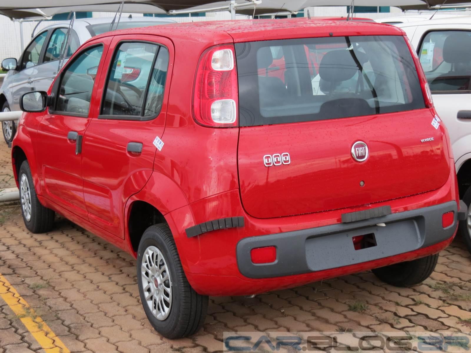 Fiat Uno Vivace x Volkswagen up! - comparativo