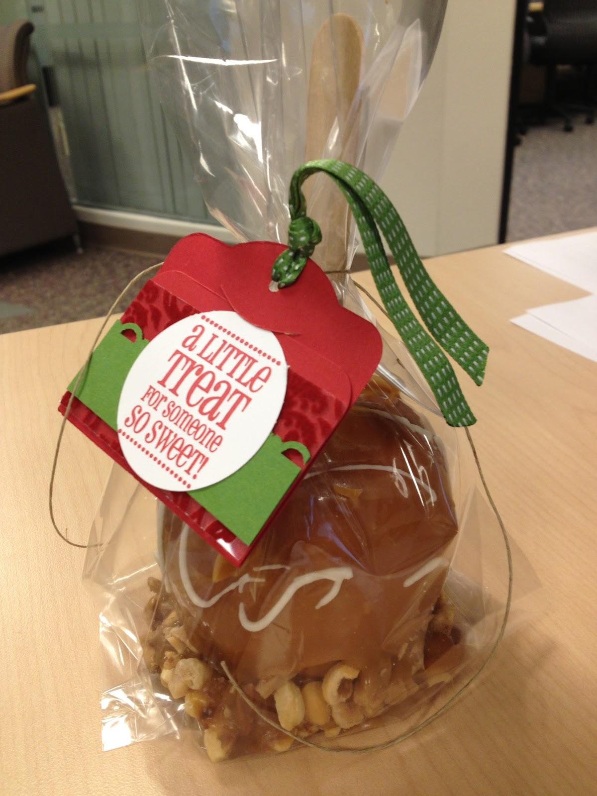 caramel apples christmas tags - Christmas Candy Apples