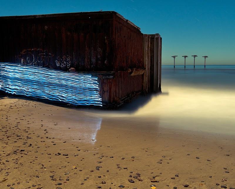 Toby Keller, fotografía de larga exposición, light painting