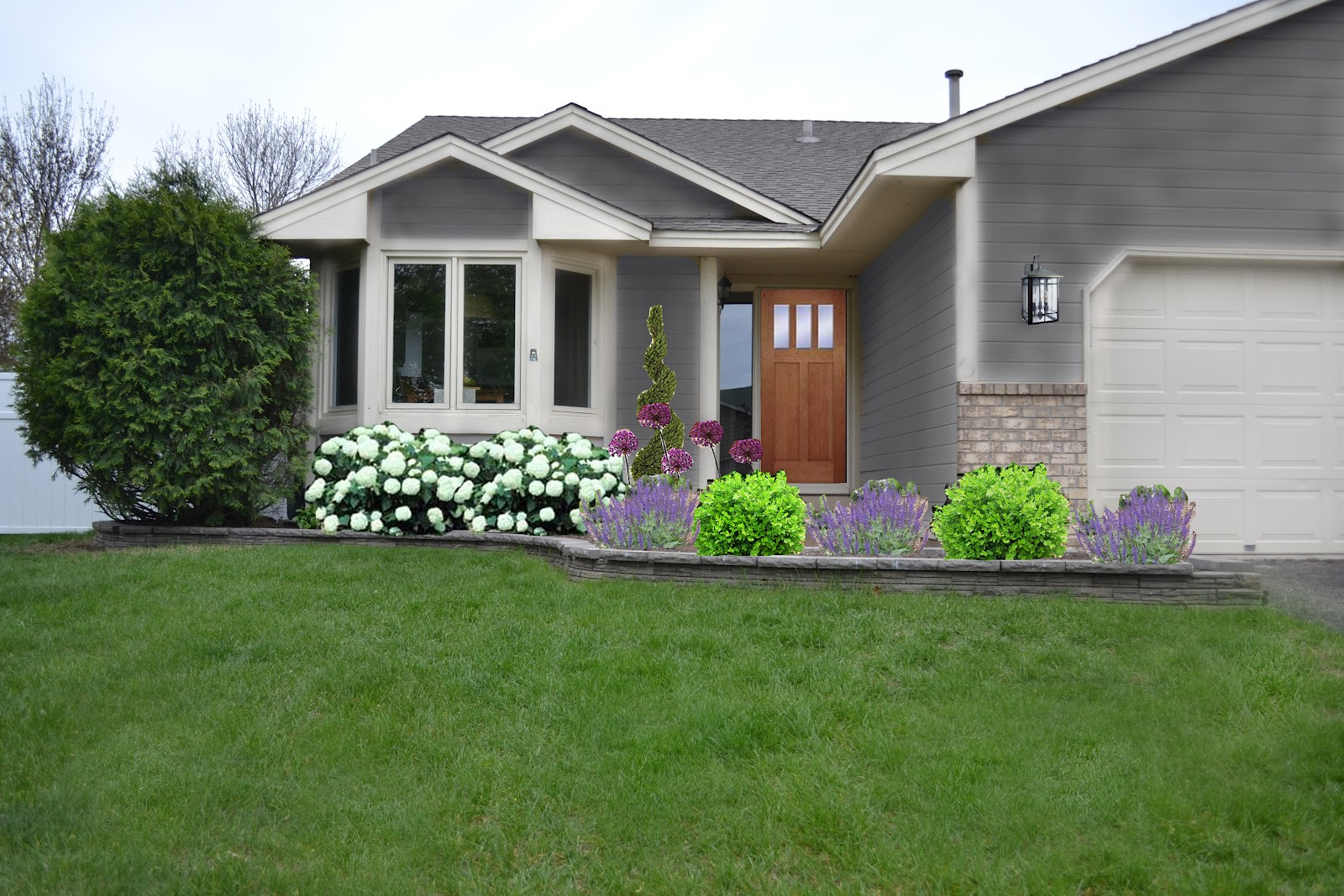 Dwelling cents front garden ideas - Small garden front of house ...