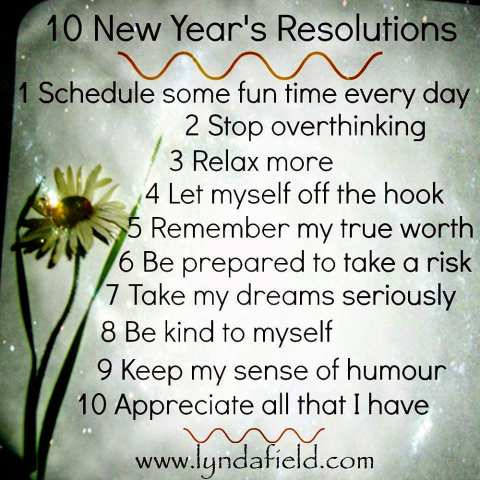 10 New Year\'s Resolutions - Quotes