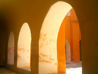 Claustro Convento Izamal Yucatan Mexico