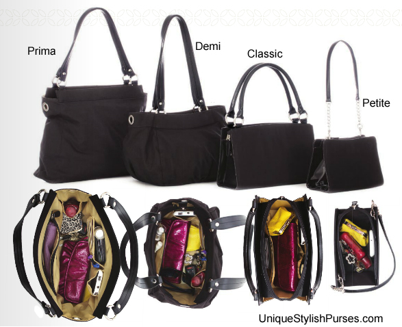 How much can you fit into a Miche Bag?