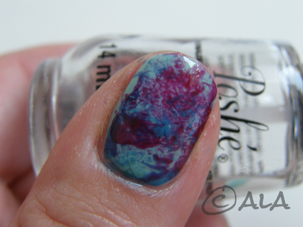 Asian Beauty Junkie Saran Wrap Mani Czyli Plastikowa Folia