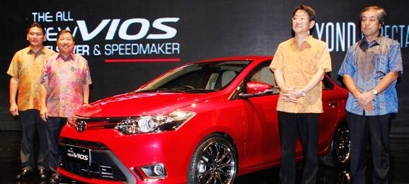 Spesifikasi dan Harga Mobil Toyota New Vios