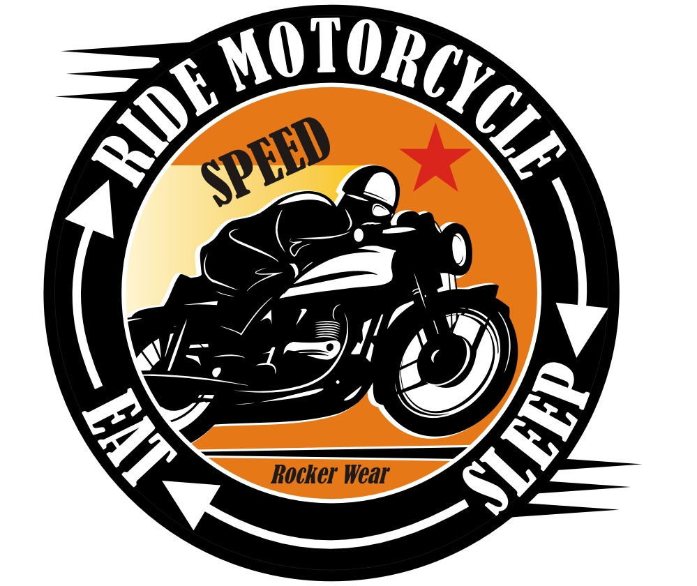 Ride Motorcycle, Sleep, Eat biker t-shirt