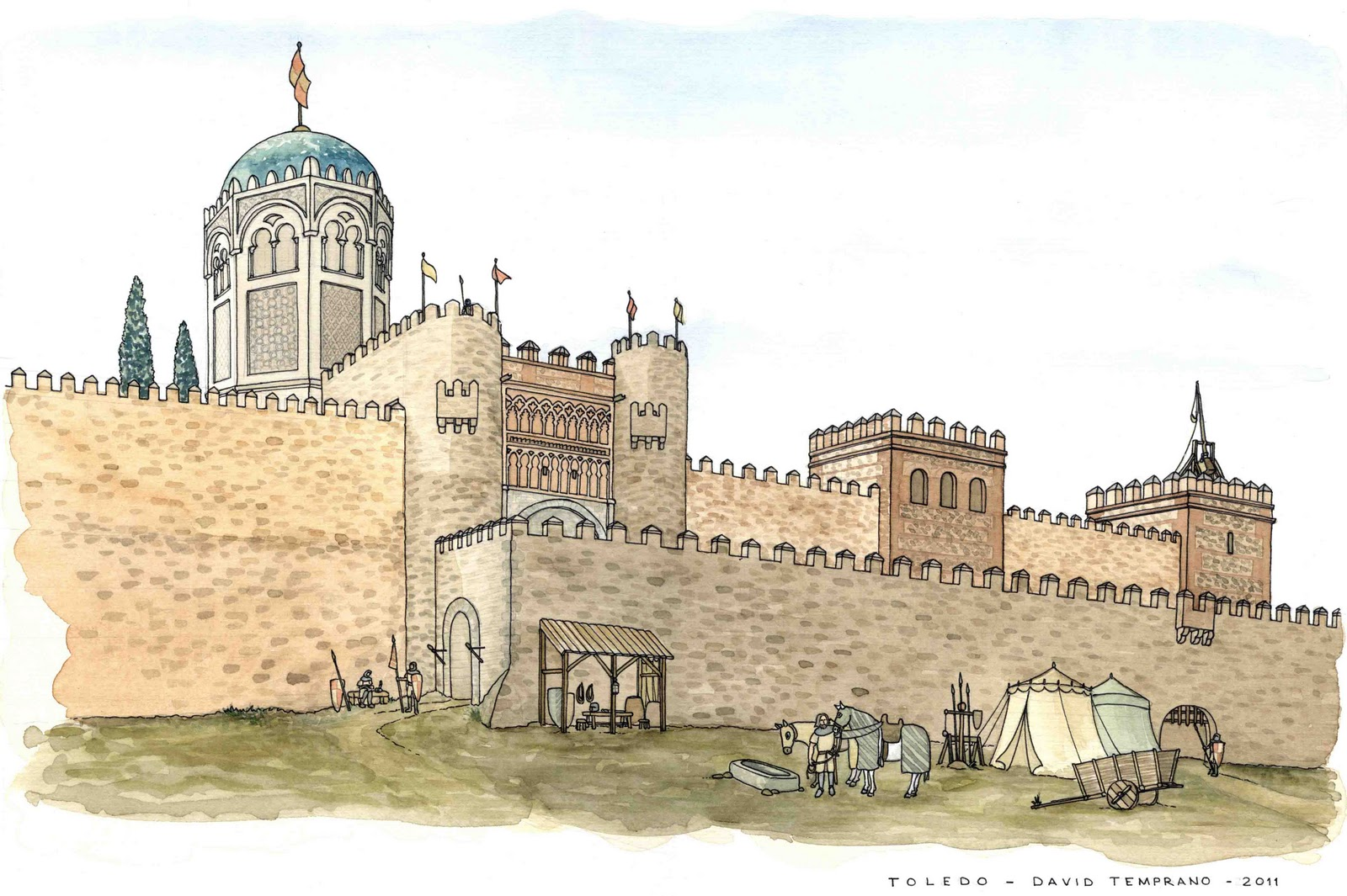 David Temprano: Toledo. Cruce de destinos
