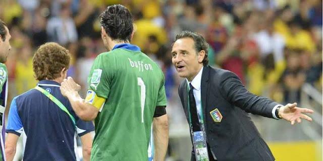 Prandelli Bangga dengan Permainan Italia