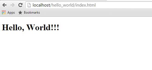 Tutorial Bootstrap Part 2 : Create Project Hello World in index.html