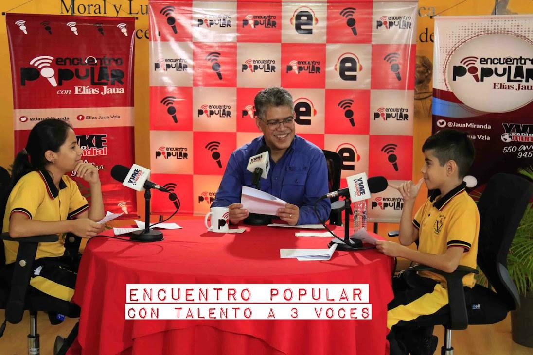 Ariadna, Eymar y Elías condujeron el Encuentro Popular #94