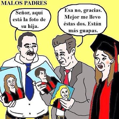 Mal padre graduación