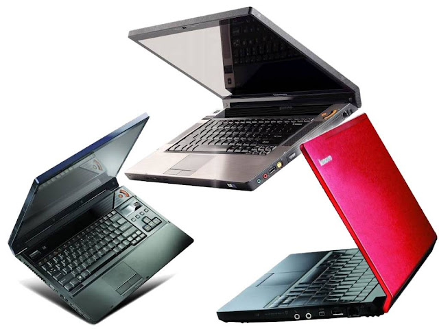 The sales of laptop notebook