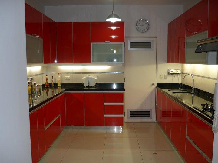 Muebles Cocina Color Rojo : Cocinas integrales color rojas imagui