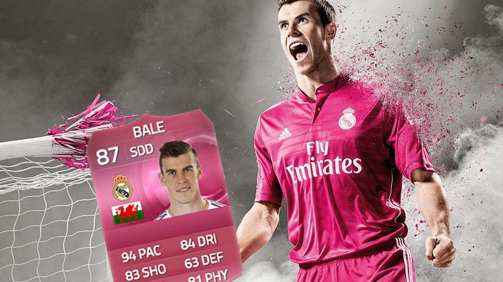 Gareth Bale FIFA 15 Ultimate Team, Real Madrid, FUT 15, SDD, RF