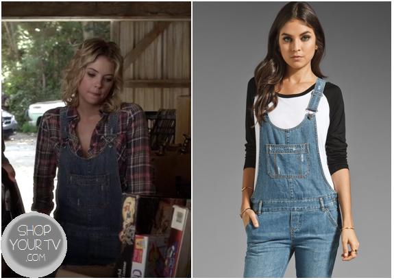 Pretty Little Liars: Season 3 Episode 18 Hanna's Denim Overalls