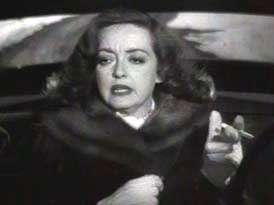 a still of Bette Davis from the fine film All About Eve