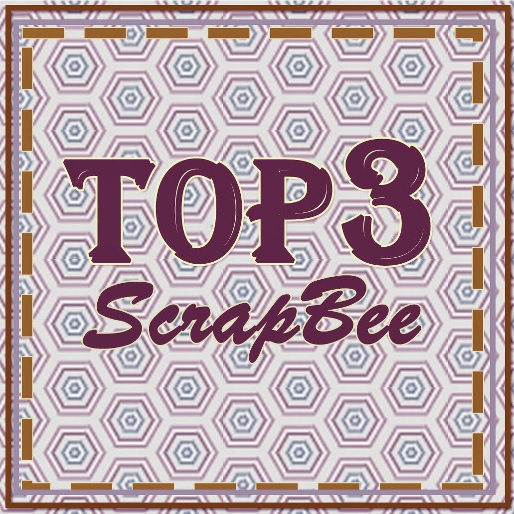 Мой блокнот в ТОПе  в блоге Scrap Bee