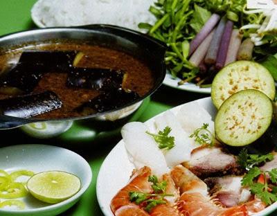 Fish Paste Hotpot in Cà Mau (Lẩu Mắm Cà Mau)