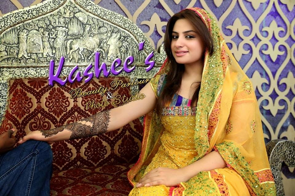 Mehndi Dress Designs 2016 New Style : Unique fashion collection: mehndi designs 2014 2015 for wedding