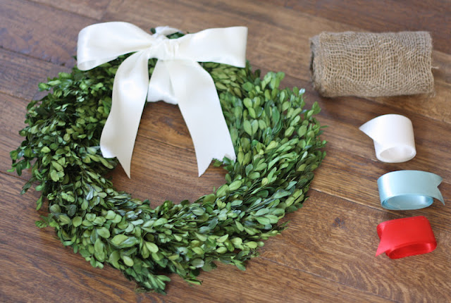 Creative wedding shower gift idea | a wreath for every season via www.julieblanner.com