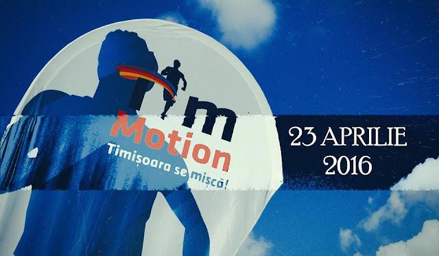 Timotion, eveniment de alergare marca Alergotura. Timişoara se mişcă. 23 Aprilie 2016