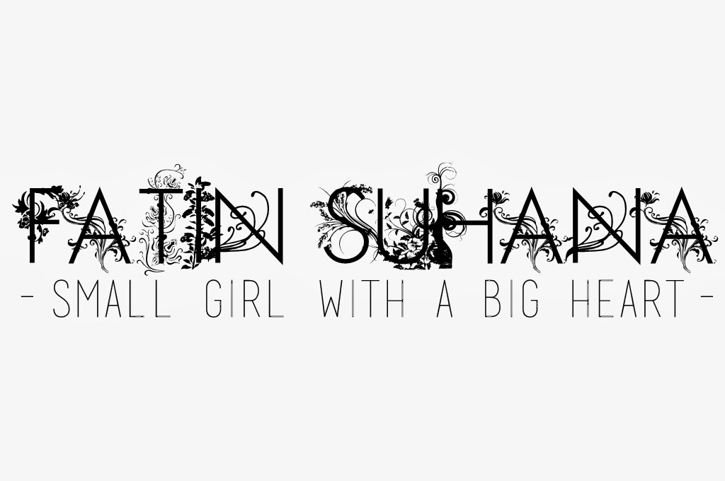 small girl with a big heart.