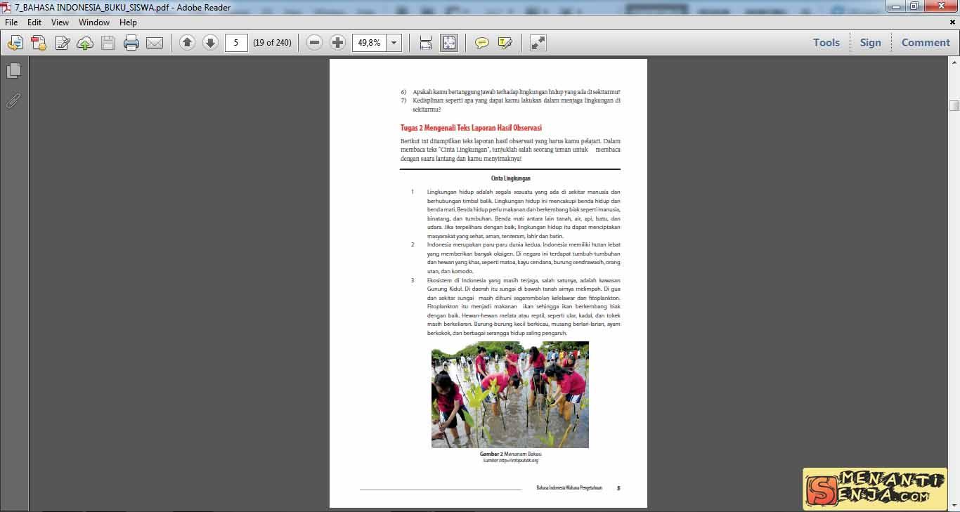 Bahasa Indonesia Smp Kelas 8 Buku Guru Kurikulum 2013