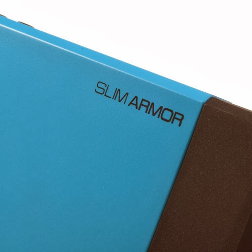 SGP Slim Armor TPU & PC Hybrid Case for iPhone 4 4S - Blue