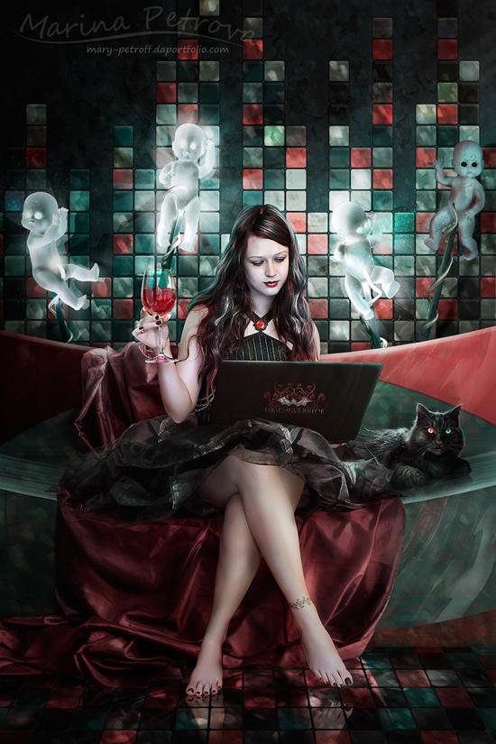 Dracula's Bride Modern Edition by mary-petroff