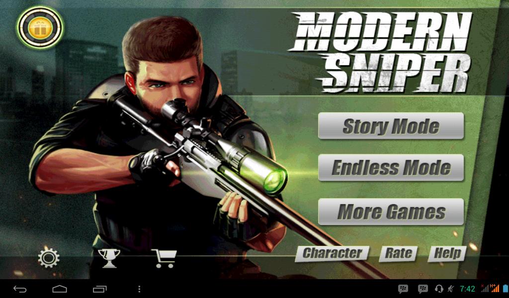 Album AzisJS | Modern Sniper