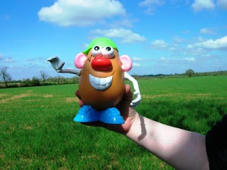 Toy Story Mr Potato Head cache container