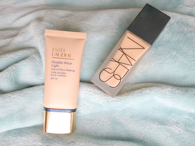 Beauty Face Every Day Base Foundations NARS All Day Luminous Weightless Estee Lauder Double Wear Light