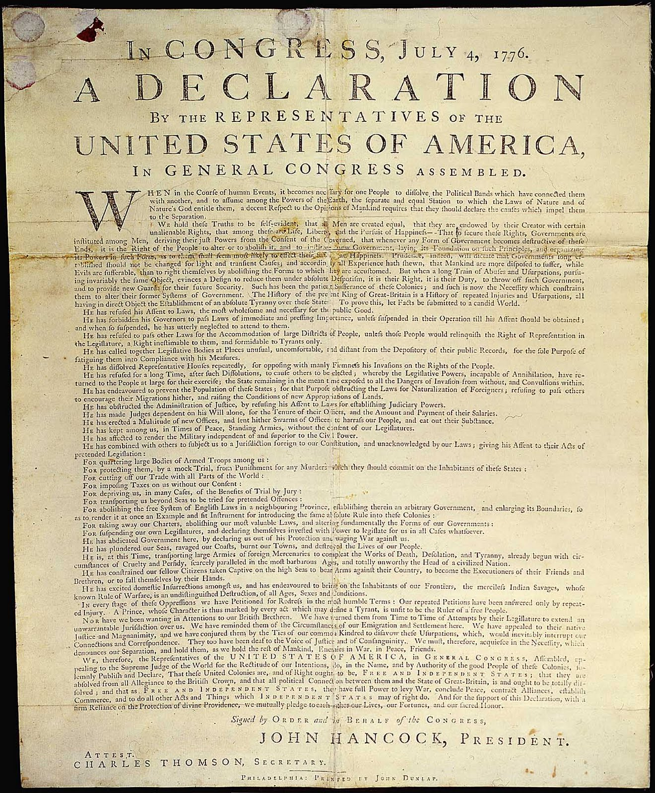 the process of creating the declaration of independence of 1776 Start studying ch 3 gov learn vocabulary, terms, and more with flashcards, games who was given the task of writing the first draft of the declaration of independence january 10, 1776.