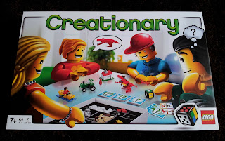 LEGO Creationary, LEGO game, LEGO inspiration
