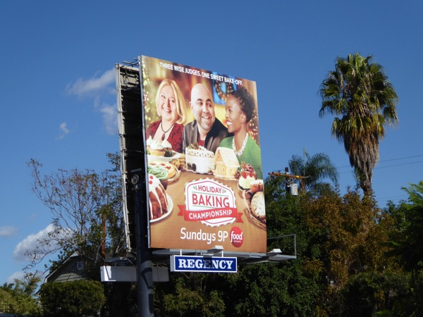 Holiday Baking Championship 2015 billboard