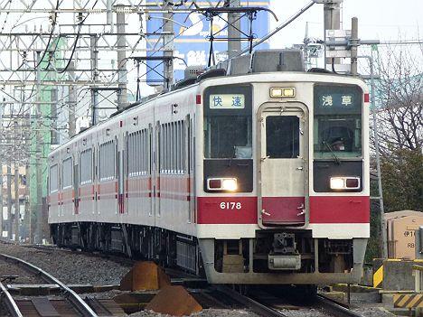 東武伊勢崎線・日光線 快速 浅草行き 6050系(廃止)
