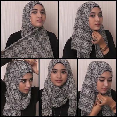 tutorial hijab wanita elegant with natasha farani.