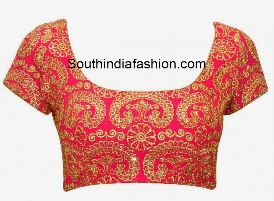 full work blouse designs