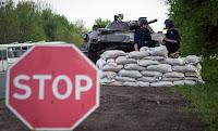 Az ukrán erők védállása