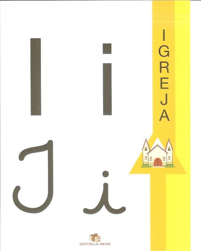 ALFABETIZAÇÃO : Alfabeto quatro tipos de Letras Ilustrado Colorido