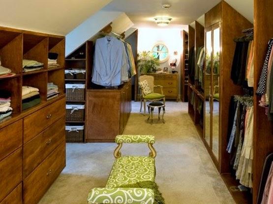 desain ruang pakaian