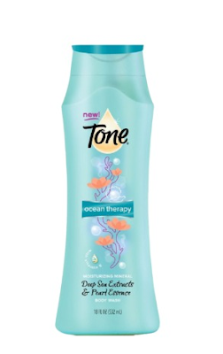Tone, Tone body wash, Tone Ocean Therapy body wash, body wash, shower gel, shower, bath and body