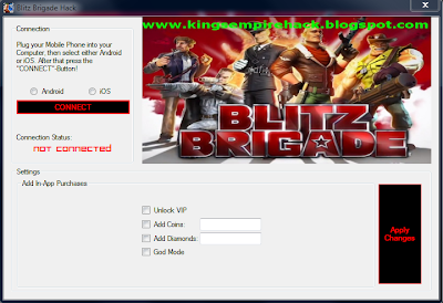 Step 3.) Save the Blitz Brigade Hack Tool to your Desktop and open it ...
