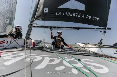 """Tour Voile difficile pour Daniel Souben et Sodebo : """"ca n'a pas fonctionné comme souhaité"""""""